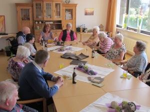 Lesung im Seniorenzentrum Vinzenzheim